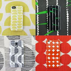 Hooray! All your favourite Skinny laMinx fabric prints are available to order on phone covers!