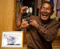 Okinawans live longer than anywhere in the world.