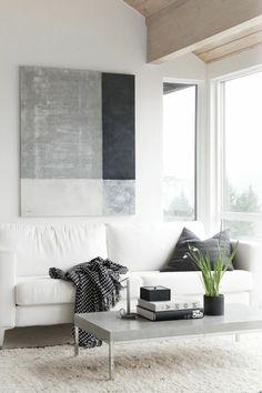Wandbild, Plantstand Und Acapulco Chair. Zwischen #boho Und #skandi   U2026 |  Wohnzimmer | Pinteu2026