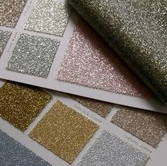 Friday's Sweet and Lovely Finds- Glittery wallpaper. Would be perfect for the back of my closet.