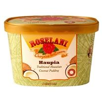 Roselani Haupia ice cream.  My *favorite*!  I've never seen this outside of Hawaii.