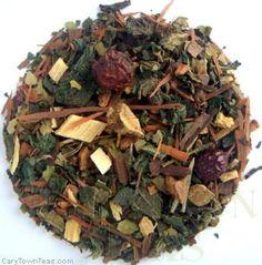 Hangover Helper Tisane, Organic Fair Trade Herbal Infusion Tea