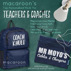Macaroon's personalised Journals make an ideal gift for any Father. A hard-covered, spiral-bound book, personalised on both the cover and on each of the inside ivory pages. Personalized Stationery, Personalized Gifts, Bound Book, Macaroons, Teacher Gifts, Spiral, Fashion Backpack, Journals, Coaching