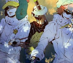 Heart Pirates | Trafalgar Law, Penguin, Shachi | One Piece Anime