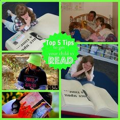 How to Teach Your Child to Read - Top 5 Tips to get your child to read (and create lifetime readers) Give Your Child a Head Start, and...Pave the Way for a Bright, Successful Future...