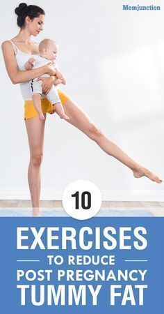 Top 10 Exercises To Reduce Tummy Fat Post Pregnancy