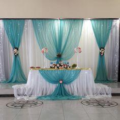 Wedding Stage Decorations, Backdrop Decorations, Backdrops, Purple Wedding, Wedding Colors, Wedding Table, Diy Wedding, Wedding Program Sign, Open Back Wedding