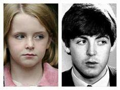 Beatrice McCartney and Paul McCartney