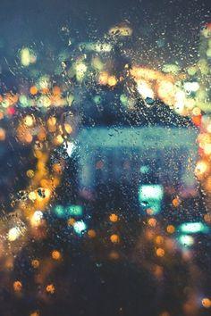 Great rain photography, rain bokeh, rain photos.