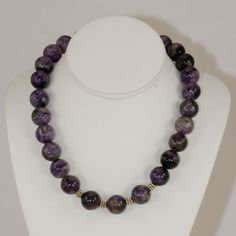 The Thing About Charoite - http://lysetremblayjewelry.ca/the-thing-about-charoite
