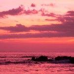 Sunset Santa Teresa, Costa Rica