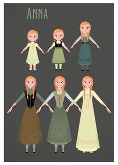 Frozen | Anna by Brittney Lee