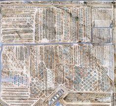 Google Earth view of the Arizona Airplane Boneyard