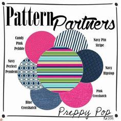 Pattern Partners - Preppy Pop