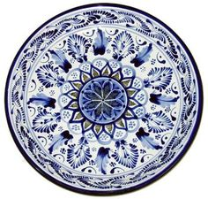 Talavera Baroque Plate