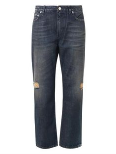 A vintage rinsed Boyfriend jean with old paper hues will roll up perfectly to show socks or bared ankles in heels or can be worn long and wide for a modern take on the Relaxed fit. Wear silk blouses to create maturity and chunky sweaters to live in. $380 Pop Eva boyfriend jeans   Acne Studios   MATCHESFASHION.COM