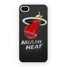 Miami Heat American Basketball Nba iPhone 4/4S and iPhone 5 Cases