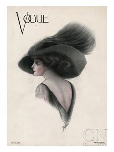 Vogue Cover, May 1910 by F. Rose - The Condé Nast Collection