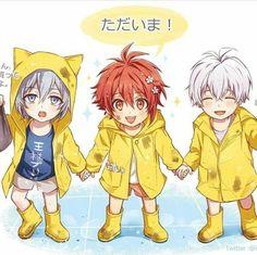 Chibi, Bandai Namco Entertainment, Manga Quotes, Ensemble Stars, Touken Ranbu, Kawaii Anime, Kids Boys, My Hero, Anime Art