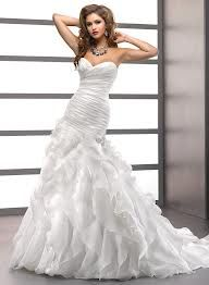 fit and flare wedding dress with sweetheart neckline - Google Search