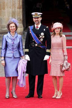 Sofia of Spain and Letizia of Asturias