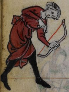 Detail from medieval manuscript, British Library Stowe MS 17 'The Maastricht Hours', f241v