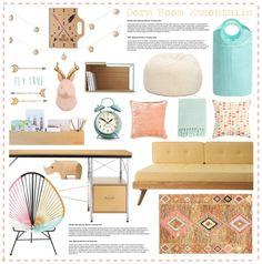 """Dorm Room Ideas"" by hmb213 on Polyvore"