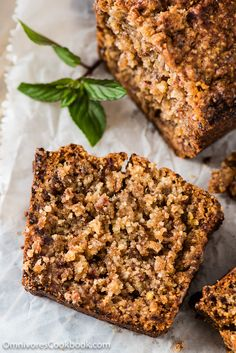 Almond Cake with Dates - The cake is gluten free and requires no leavening agent, yet the cake turns out so moist and crumbly | omnivorescookbook.com