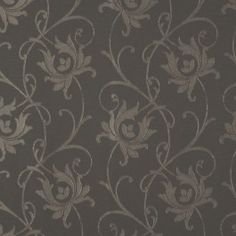 Good Gray Floral Drapery Fabric   Annabel Cinder By Charles Parsons Interiors # Fabric #material #