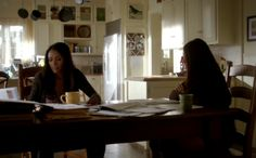 Elena Gilbert kitchen