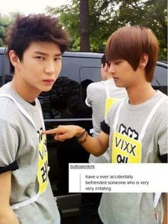 I might actually be that irritating friend.. #vixxNeo