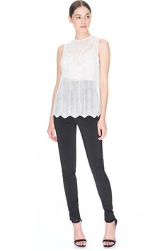 Keepsake think twice lace top
