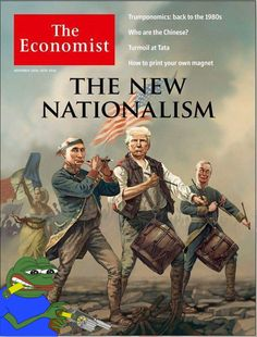 The New Nationalism (The Economist cover)