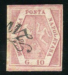 10 gr. II tav. (11) ann. a svolazzo. Bello. AD, Bot.