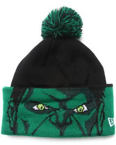 f615caf61ba Love this Hulk Marvel Hero Major Cuff Knit Hat by New Era on DrJays. Take