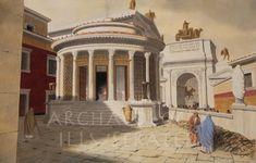 Rome.  Temple of Vesta.  2nd century AD