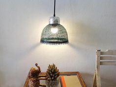 Items similar to Green pendant light small lamps bamboo lampshade with stamped aluminum floral bowl on top,light fixtures,bedside lamps,living room light on Etsy Green Pendant Light, Small Pendant Lights, Bamboo Lamp, Small Lamps, Bedside Lamp, Living Room Lighting, Things To Buy, Light Fixtures, Unique Jewelry
