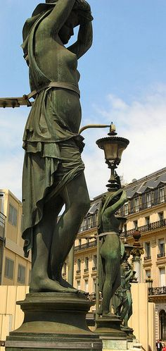 Opera House Statues - Paris
