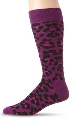 Happy Socks Men's Animal 6, Purple, 10-13 Happy Socks. $12.00. Sock. Purple. Machine Wash. 80% Combed Cotton, 17% Polyamide, 3% Elastane