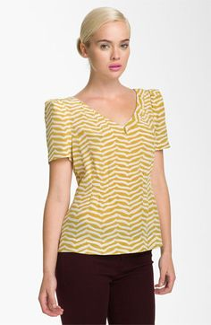 MARC BY MARC JACOBS 'Zora' Silk Top