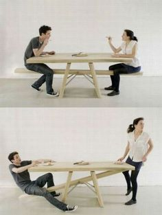 see saw table!