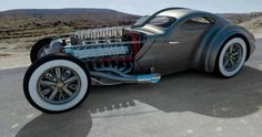 Bugatti Type 73 Hot Rod....Really ?   But then again....Why not ?