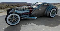 Bugatti Type 73 Rod.