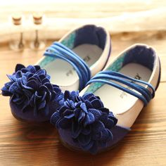 06a5b78d8da 2014 spring flower elastic strap princess single girls shoes toddler shoes  baby child leather flats kid
