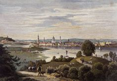 Potsdam, Stadtansicht - Johann Poppel