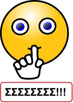 Shhh Quiet Cartoon image search results - ClipArt Best Yellow Smiley Face, Learn Thai, Library Signs, Indoor Recess, Class Rules, Classroom Rules, Classroom Ideas, Classroom Management, Tricks