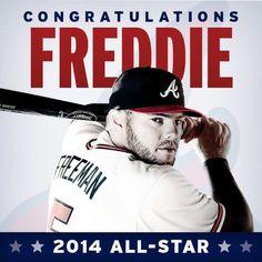 Congrats Freddie! Weell deserved!!!