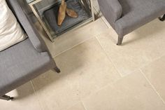 BUY Limestone Flooring Avignon Soft Tumble light beige natural Limestone flagstone flooring and floor tiles in various sizes from Beswickstone Cirencester