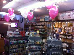Tafeldecoratie 3ballonnen Taart en Cupcakes Spijkenisse