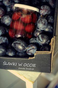 Śliwki w occie Pickles, Pantry, Plum, Canning, Fruit, Recipes, Kitchens, Polish Cuisine, Pantry Room